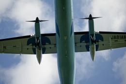 tsubameさんが、福岡空港で撮影した天草エアライン DHC-8-103Q Dash 8の航空フォト(飛行機 写真・画像)