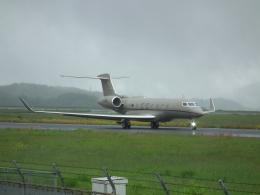 ヒコーキグモさんが、岡山空港で撮影したウィルミントン・トラスト・カンパニー G650ER (G-VI)の航空フォト(飛行機 写真・画像)