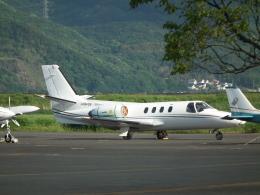 ヒコーキグモさんが、岡南飛行場で撮影した日本法人所有 501 Citation I/SPの航空フォト(飛行機 写真・画像)
