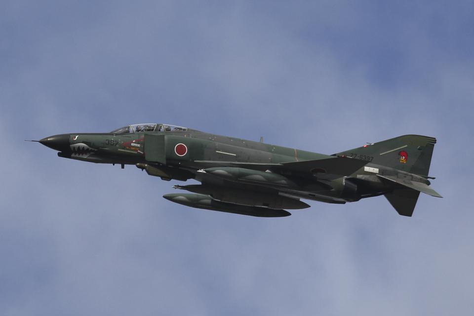 Sharp Fukudaさんの航空自衛隊 Mitsubishi RF-4EJ Phantom II (77-6397) 航空フォト