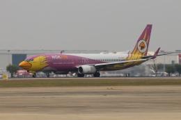 磐城さんが、ドンムアン空港で撮影したノックエア 737-86Nの航空フォト(飛行機 写真・画像)