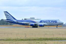 サンドバンクさんが、成田国際空港で撮影したナショナル・エアラインズ 747-428(BCF)の航空フォト(飛行機 写真・画像)