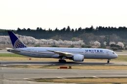 ウィングはくつるさんが、成田国際空港で撮影したユナイテッド航空 787-9の航空フォト(飛行機 写真・画像)