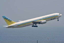 NIKEさんが、羽田空港で撮影したAIR DO 767-33A/ERの航空フォト(飛行機 写真・画像)