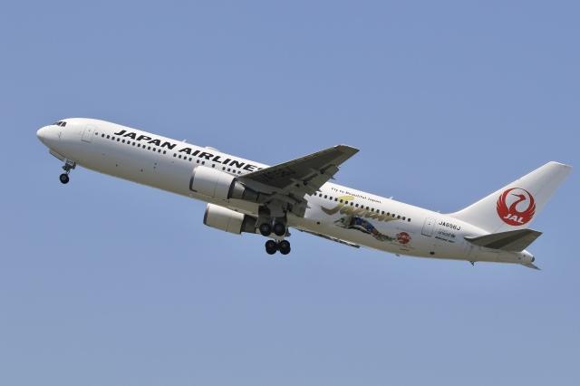 航空フォト:JA656J 日本航空 767-300