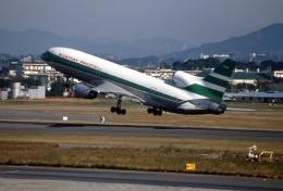 LEVEL789さんが、名古屋飛行場で撮影したキャセイパシフィック航空 L-1011-385-1 TriStar 1の航空フォト(飛行機 写真・画像)