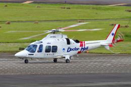 yabyanさんが、名古屋飛行場で撮影した静岡エアコミュータ AW109SP GrandNewの航空フォト(飛行機 写真・画像)