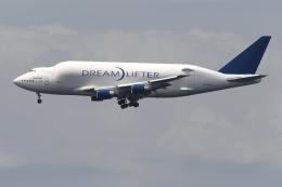 KAKOさんが、中部国際空港で撮影したボーイング 747-4H6(LCF) Dreamlifterの航空フォト(飛行機 写真・画像)