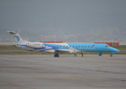 taiki17さんが、関西国際空港で撮影したアエロ・モンゴリア ERJ-145LRの航空フォト(飛行機 写真・画像)