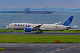 Souma2005さんが、羽田空港で撮影したユナイテッド航空 787-9の航空フォト(飛行機 写真・画像)