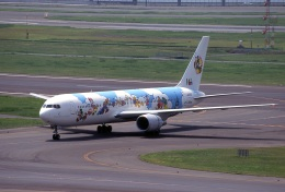 LEVEL789さんが、羽田空港で撮影した日本航空 767-346の航空フォト(飛行機 写真・画像)