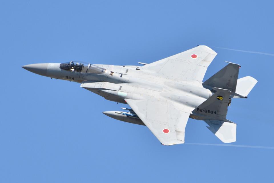 れぐぽよさんの航空自衛隊 Mitsubishi F-15J Eagle (82-8964) 航空フォト