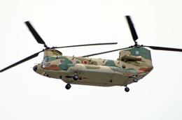 なごやんさんが、名古屋飛行場で撮影した航空自衛隊 CH-47J/LRの航空フォト(飛行機 写真・画像)