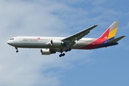 航空フォト:HL7247 アシアナ航空 767-300