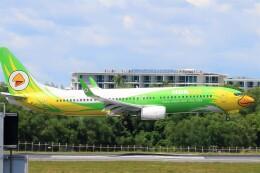 Hiro Satoさんが、プーケット国際空港で撮影したノックエア 737-86Nの航空フォト(飛行機 写真・画像)