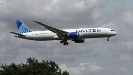 raichanさんが、成田国際空港で撮影したユナイテッド航空 787-9の航空フォト(飛行機 写真・画像)
