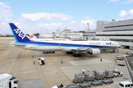 航空フォト:JA755A 全日空 777-300