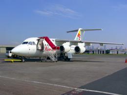 taka1129さんが、ニノイ・アキノ国際空港で撮影したアジアンスピリット BAe-146-100の航空フォト(飛行機 写真・画像)