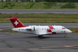 宮崎 育男さんが、成田国際空港で撮影したREGA スイスエア-アンビュランス CL-600-1A11 Challenger 600の航空フォト(飛行機 写真・画像)