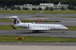 宮崎 育男さんが、成田国際空港で撮影したカタール・エグゼクティブ G650ER (G-VI)の航空フォト(飛行機 写真・画像)