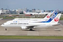 cassiopeiaさんが、羽田空港で撮影した日本航空 767-346/ERの航空フォト(飛行機 写真・画像)