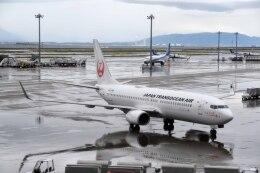 Re4/4さんが、中部国際空港で撮影した日本トランスオーシャン航空 737-8Q3の航空フォト(飛行機 写真・画像)