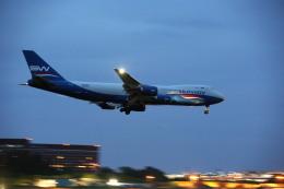 airdrugさんが、成田国際空港で撮影したシルクウェイ・ウェスト・エアラインズ 747-83QFの航空フォト(飛行機 写真・画像)