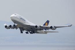 kan787allさんが、関西国際空港で撮影したルフトハンザドイツ航空 747-430の航空フォト(飛行機 写真・画像)