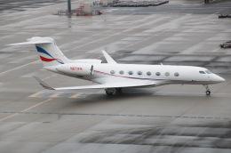 えのびよーんさんが、羽田空港で撮影したウィルミントン・トラスト・カンパニー G650 (G-VI)の航空フォト(飛行機 写真・画像)
