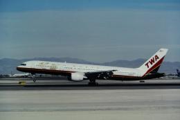 ゴンタさんが、マッカラン国際空港で撮影したトランス・ワールド航空 757-231の航空フォト(飛行機 写真・画像)