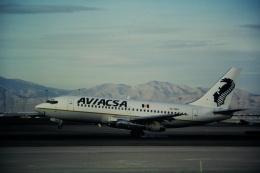 ゴンタさんが、マッカラン国際空港で撮影したアビアクサ 737-219/Advの航空フォト(飛行機 写真・画像)
