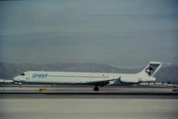 ゴンタさんが、マッカラン国際空港で撮影したスピリット航空 MD-83 (DC-9-83)の航空フォト(飛行機 写真・画像)