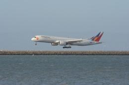 小弦さんが、サンフランシスコ国際空港で撮影したフィリピン航空 A350-941の航空フォト(飛行機 写真・画像)