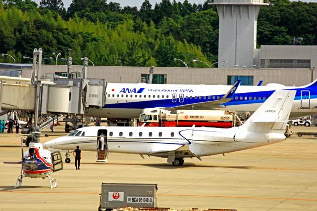 kiyochanさんが、大分空港で撮影したノエビア 680 Citation Sovereignの航空フォト(飛行機 写真・画像)