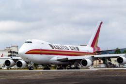 航空フォト:N705CK カリッタ エア 747-400