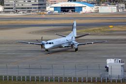 tsubameさんが、福岡空港で撮影した国土交通省 航空局 Saab 2000の航空フォト(飛行機 写真・画像)