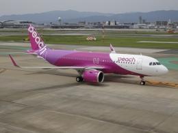 STAR711Aさんが、福岡空港で撮影したピーチ A320-251Nの航空フォト(飛行機 写真・画像)