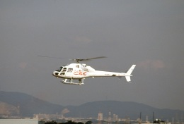 LEVEL789さんが、名古屋飛行場で撮影した中日本航空 AS355F2 Ecureuil 2の航空フォト(飛行機 写真・画像)