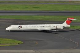 kumagorouさんが、羽田空港で撮影した日本航空 MD-90-30の航空フォト(飛行機 写真・画像)