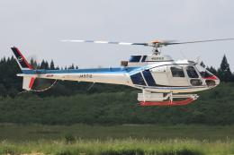 西風さんが、大館能代空港で撮影した中日本航空 AS350B Ecureuilの航空フォト(飛行機 写真・画像)