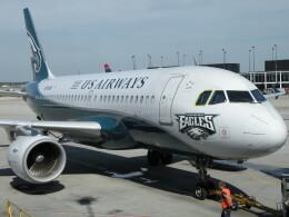 kohei787さんが、オヘア国際空港で撮影したUSエアウェイズ A319-112の航空フォト(飛行機 写真・画像)