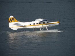 kohei787さんが、バンクーバー・ハーバー・ウォーター空港で撮影したハーバー・エア・シープレーンズ DHC-3T Vazar Turbine Otterの航空フォト(飛行機 写真・画像)