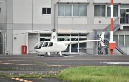 ヘリオスさんが、東京ヘリポートで撮影したオートパンサー R44 Clipper IIの航空フォト(飛行機 写真・画像)