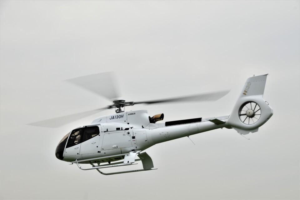 ヘリオスさんの日本個人所有 Airbus Helicopters H130 (JA130H) 航空フォト