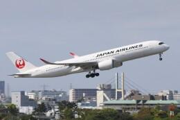 青春の1ページさんが、伊丹空港で撮影した日本航空 A350-941の航空フォト(飛行機 写真・画像)