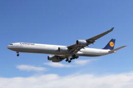 utarou on NRTさんが、成田国際空港で撮影したルフトハンザドイツ航空 A340-642の航空フォト(飛行機 写真・画像)