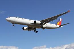 utarou on NRTさんが、成田国際空港で撮影したフィリピン航空 A330-301の航空フォト(飛行機 写真・画像)