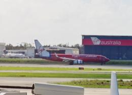 TA27さんが、ブリスベン空港で撮影したヴァージン・オーストラリア 737-8FEの航空フォト(飛行機 写真・画像)