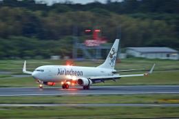 Souma2005さんが、成田国際空港で撮影したエア・インチョン 737-86J/SFの航空フォト(飛行機 写真・画像)