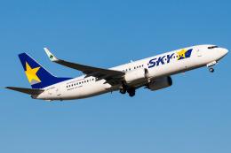 Yukio a.k.a Yu Worksさんが、福岡空港で撮影したスカイマーク 737-81Dの航空フォト(飛行機 写真・画像)